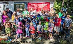 Dziecięce zawody wędkarskie na Tarce